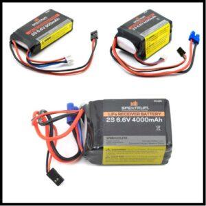 Receiver/Onboard Batteries